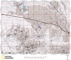 Joshua Tree California Map Flora Of Iron Age Mine Area West Of Landers