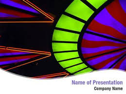 bright lights abstract powerpoint templates bright lights