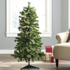 green fir artificial tree with 4 ft pre lit trees
