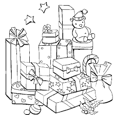 christmas coloring free christmas coloring mountain gifts
