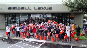 lexus in dallas fort worth area sewell automotive dallas area stores als ice bucket challenge