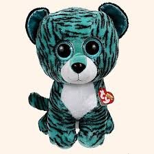 ty beanie boos tess tiger large justice exclusive stuffed