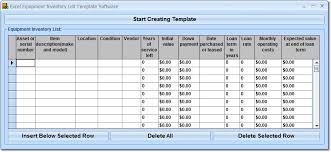 inventory excel template wine software