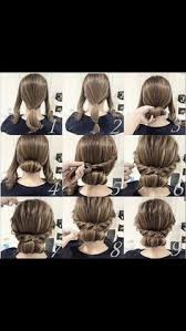 hair updo for women with very thin hair easy updo for medium length hair natural hair style braids