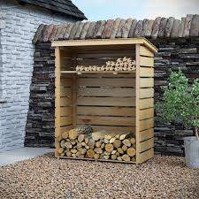 wood store rowlinson 4 ft x 2 ft wooden log store reviews wayfair co uk