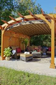 Lattice Pergola Roof by 46 Best Pergolas Images On Pinterest Patio Ideas Pergola Ideas