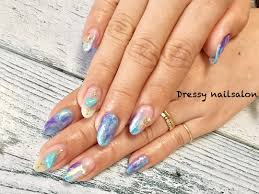 lovely and extravagant clear nail designs