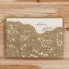 wedding invitations limerick 2016 new laser cut gold wedding invitation card hollow flora