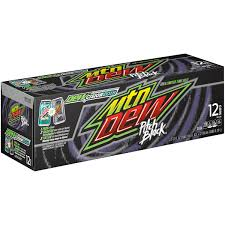 customer reviews mountain dew pitch black 12 fl oz 12 ct