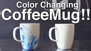 Cool Coffee Mugs For Guys by Diy Color Changing Coffee Mug Youtube