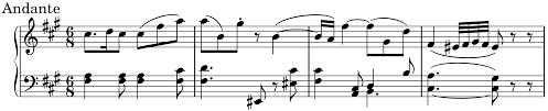 walzer delle candele candela 80 sulla notazione musicale