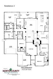 floor plans for single homes quintessa floor plans homes in vista county homes