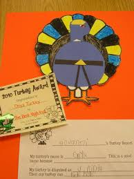 turkey disguise take home project classroom ideas