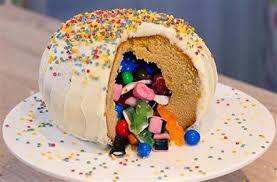gateau cuisine pinata cake