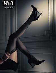 well stockings print advert by herezie unrippable ads of the world