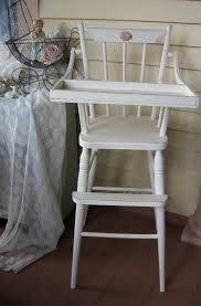 Shabby Chic Nursery Furniture by Vintage High Chair Shabby Chic French Farmhouse Shabby Chic Nursery