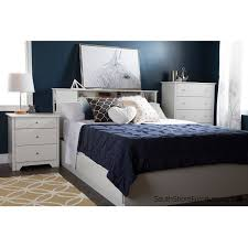 Bedside Charging Station South Shore Vito Nightstand With Charging Station And Drawers