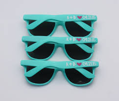 personalized sunglasses wedding favors personalized sunglasses for party favors louisiana brigade