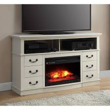 tv stands sensational white fireplace tv stand image concept