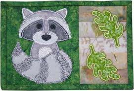 Mug Rug Designs Backyard Buddies Mug Rugs Pattern
