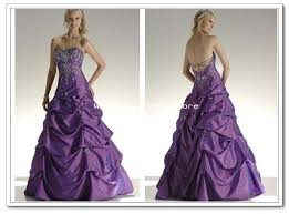 purple and white wedding dresses wedding dress purple embroidery