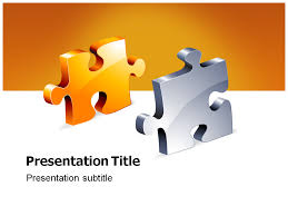 jigsaw powerpoint templates and backgrounds