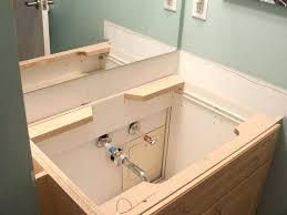 How To Install Bathroom Vanity Top Installing Bathroom Vanity Top Bathroom Counter Installing Granite