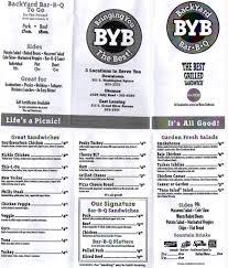 Backyard Bar And Grill Menu by May 2009 Mid Michigan Dining