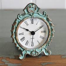 Mantle Piece Clock Shabby Chic Clocks Oscars Boutique