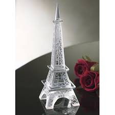 eiffel tower crystal figure furniture home decor and home