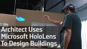 Designing Buildings Architect Uses Microsoft Hololens To Design Buildings Youtube
