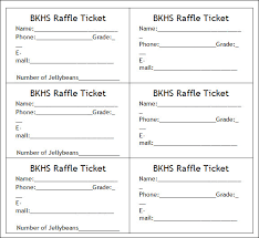 Raffle Sheet Template Blank Bkhs Raffle Ticket Template Exle With Regular