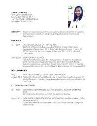 resume template for ojt free download ojt resume format for sle download dwighthowardallstar com