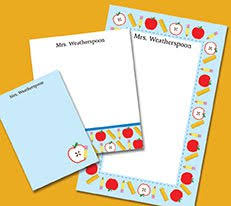 personalized notecards buy personalized stationery gifts for kids adults and teachers
