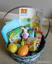easter gift baskets for toddlers great and easy easter diy basket decoration ideas for kids
