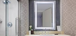 Electric Mirror Bathroom by Integrity Lighted Mirror By Electric Mirror For Basement