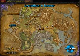 Wow Map Legion Guide Suramar Leyline Map Blizzplanet Warcraft