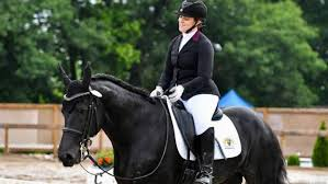 rider brings attention to para equestrian dressage national
