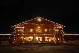 lazy christmas lights winter lodge c lazy u ranch