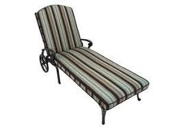 cadiz cast aluminum chaise lounge chair king