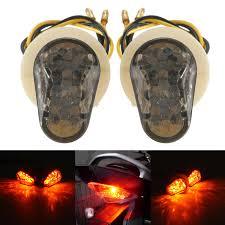 amber led book light black amber motorcycle 12v flush bonading mini led turn signal