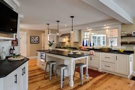Beadboard Kitchen Island - wide kitchen island air dried wide plank walnut kitchen island