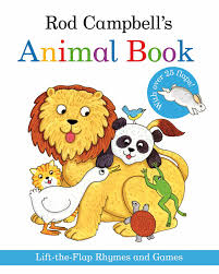 rod campbell u0027s animal book lift the flap rhymes and games amazon