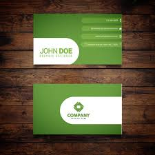 green business card template free download on pngtree