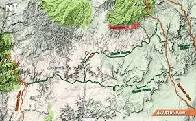 Kanab Utah Map by Hayduke Grand Canyon Bypass U2013 Across Utah