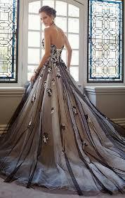 black wedding dresses black wedding dress kaleidoscope effect
