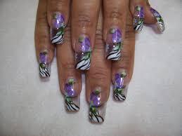 nail designs animal print nail art designs