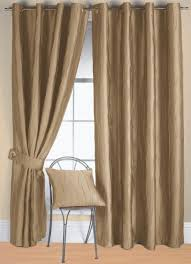 jazz linen brown and gold curtains distinctive curtain ready made