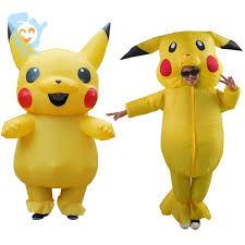 Pikachu Costume Aliexpress Com Buy Pikachu Costume Pokemon Cosplay Inflatable