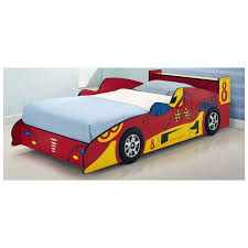 toddler kids red racing race car bed frame buy novelty beds